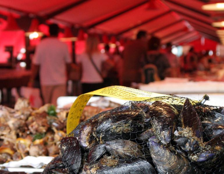 Mercato ittico al minuto di Chioggia